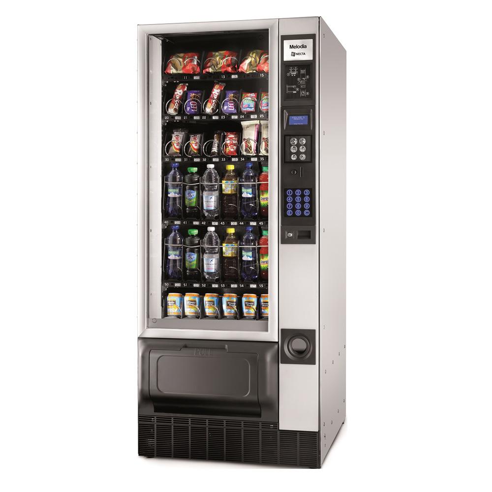 Distributore snacks e bevande fredde